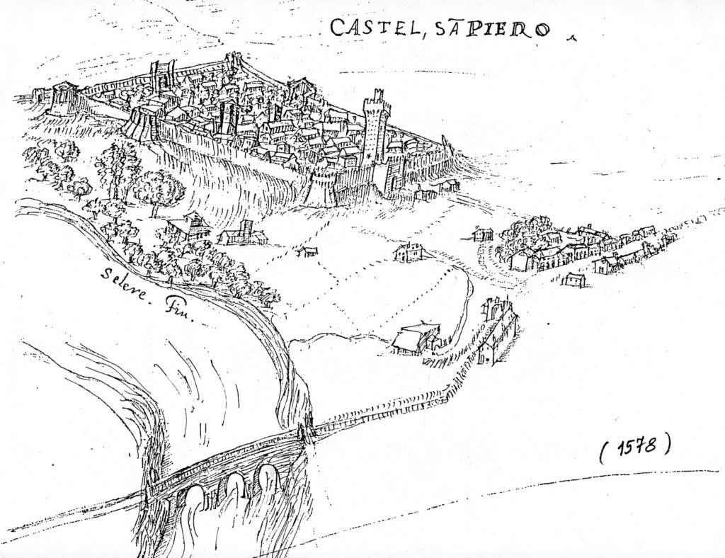 Mappa castel san pietro